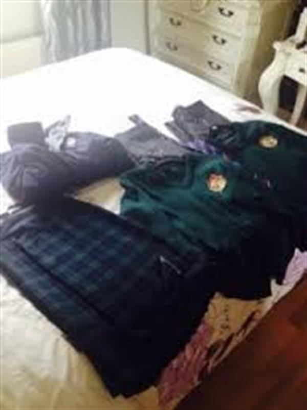 Ordering a school uniform from Shaws