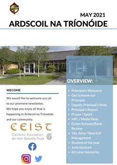 Ardscoil Newsletter