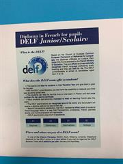 Diploma Junior/Scolaire (A2)in French